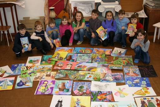 Детская художественная школа И мастерство и вдохновенье highslide js